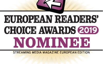 Streamhub nominated for Best Analytics and Video QoS in 2019 European Readers Choice Awards
